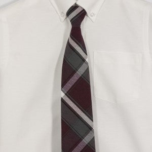 RAINBOW MONTESSORI PLAID TIE - Appletree Uniforms