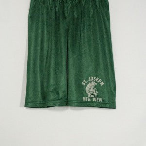 ST. JOSEPH MOUNTAIN VIEW MINI MESH SHORT WITH SILKSCREENED LOGO