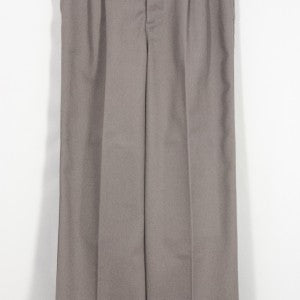 BOYS DARK GRAY TWILL PLEATED FRONT ELASTIC BACK PANT - Appletree Uniforms