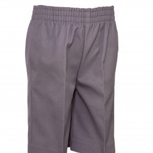 UNISEX LIGHT GRAY ALL AROUND ELASTIC SHORT