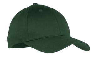 Youth Six-Panel Twill Cap.- Logoed