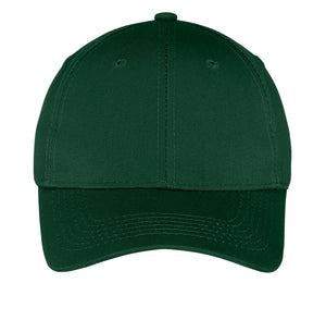 Youth Six-Panel Twill Cap.- Logoed - Appletree Uniforms