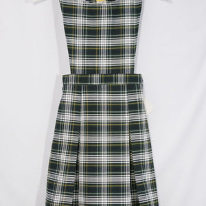SUNNYVALE CHRISTIAN SCHOOL JUMPER WITH 2 PLEAT SKIRT, PINAFORE TOP