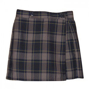 ST. JOSEPH CUPERTINO SKORT SIDE POCKET WITH ADJUSTABLE WAIST - Appletree Uniforms