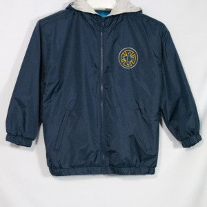 ST. JOSEPH OF CUPERTINO PERFORMER NYLON JACKET WITH EMBROIDERED LOGO