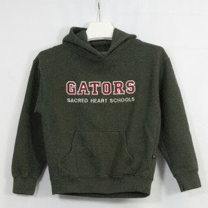 SACRED HEART SCHOOLS SUPER 10 HOODIE WITH GATOR LOGO