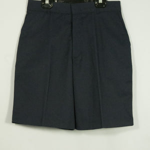 BOYS NAVY PLEATED FRONT ELASTIC BACK SHORT - Appletree Uniforms