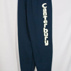 CANTERBURY CHRISTIAN SCHOOL HEAVYWEIGHT SWEATPANT WITH SILKSCREENED LOGO