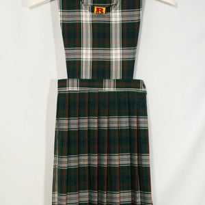 CANTERBURY CHRISTIAN SCHOOL JUMPER WITH KNIFE PLEAT SKIRT, PINAFORE TOP