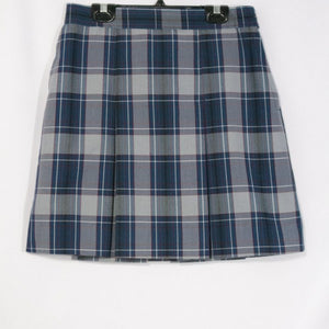 CANYON HEIGHTS 2-KICK PLEAT SKIRT FRONT & BACK