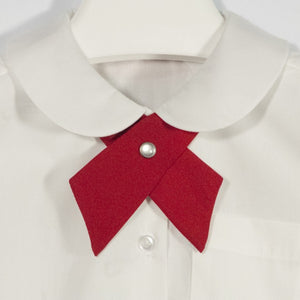 GIRLS RED TIE - Appletree Uniforms