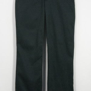 GIRLS NAVY ADJUSTABLE WAIST FLAT FRONT MID-RISE PANT - Appletree Uniforms