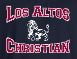 Los Altos Christian P.E. TShirt - LOGOED - Appletree Uniforms