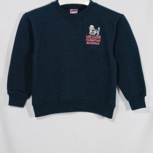 LACS HEAVYWEIGHT CREW SWEATSHIRT WITH EMBROIDERED LOGO