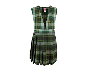 ST. JOSEPH MOUNTAIN VIEW JUMPER WITH KNIFE PLEAT SKIRT, V-FRONT TOP - Appletree Uniforms