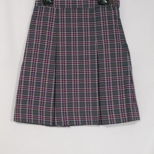SACRED HEART SCHOOLS PLAID 2-KICK PLEAT SKIRT FRONT & BACK - Appletree Uniforms