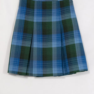 ST. NICHOLAS 2-KICK PLEAT SKIRT FRONT & BACK