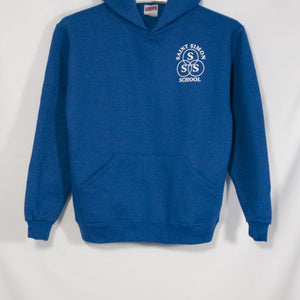 ST. SIMON HEAVYWEIGHT HOODIE WITH SILKSCREENED LOGO