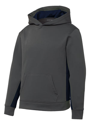 Los Altos Gray/Navy Hoodie - Appletree Uniforms