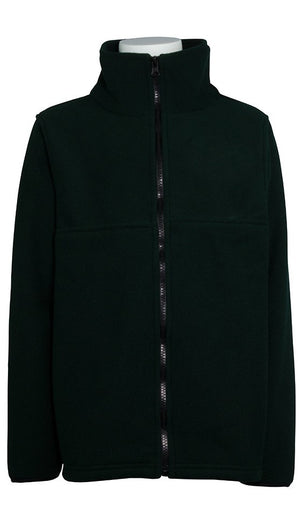 ST. NICHOLAS FLEECE JACKET (GREEN)