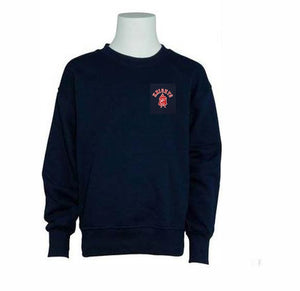 RESURRECTION HEAVYWEIGHT CREW SWEATSHIRT WITH SILKSCREENED LOGO - Appletree Uniforms
