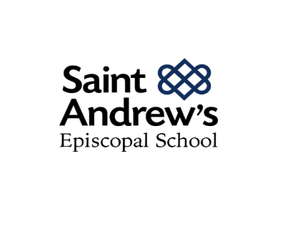 St Andrews Navy Cardigan- New Logo in white - Appletree Uniforms