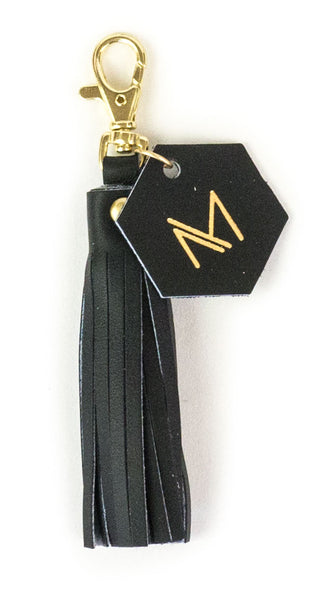 May Designs Black Tassel