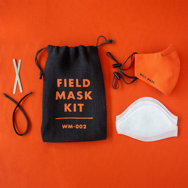 FIELD MASK KIT – Face Mask w/ Filters & Nosepads