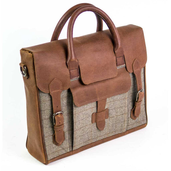 J.A. Satchel in Camel