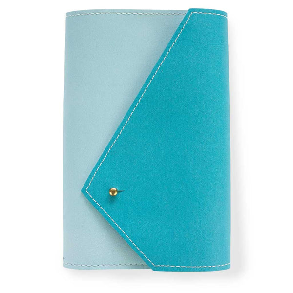 May Designs Mini Folio Cover Ice + Aqua