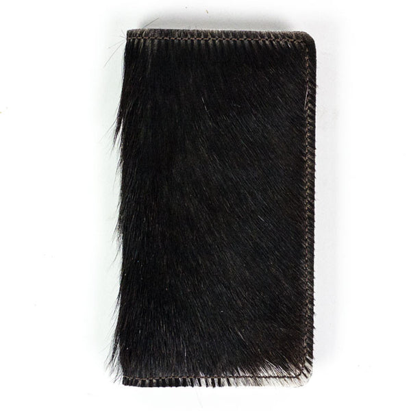 iPhone Pocket Wallet in Hair-On-Hide