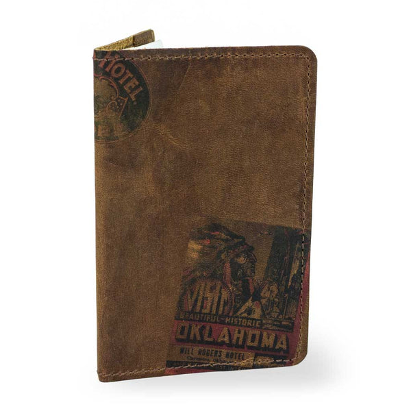 Printed Leather Fieldnotes Journal Cover