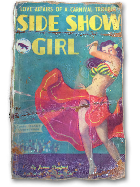Leather Poster - Side Show Girl