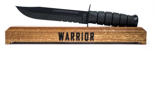 Ka-Bar Warrior Knife Stand