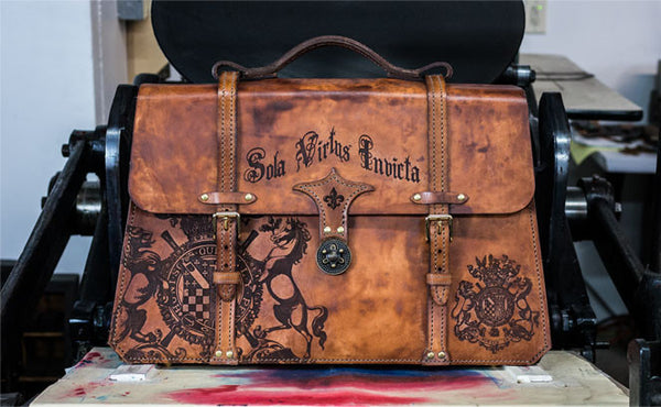 Crest And Crown Briefcase