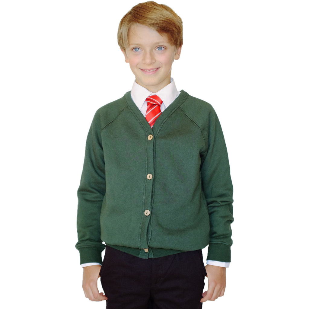 Pure Cotton School Cardigan - Available in 4 colours