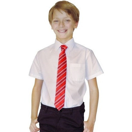 Short Sleeved 100% Organic Cotton School Shirt