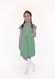 Pure Cotton Gingham School Summer Dress - 5 COLOURS AVAILABLE
