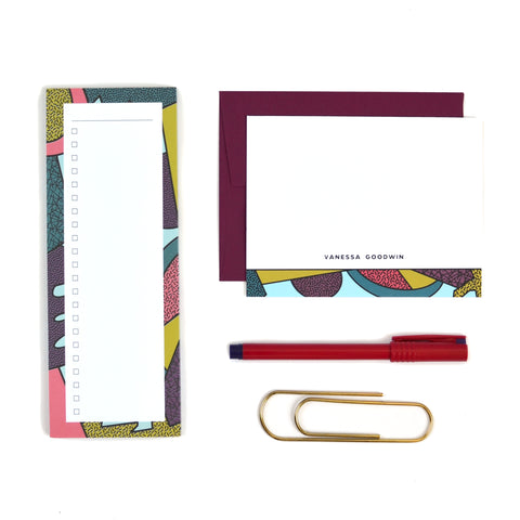 Abstract No. 2 Stationery Set
