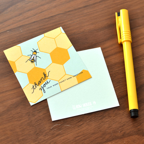 Worker Bee Tiny Notes