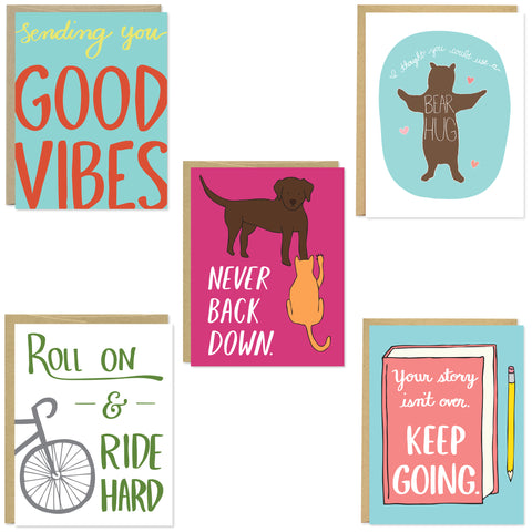 Encouragement Card 5 Pack