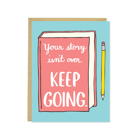 Keep Going Card