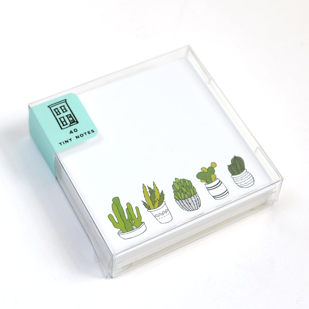 Succulent Tiny Notes