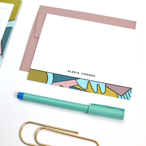 Abstract No. 1 Stationery Set