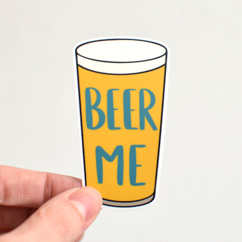 Beer Me Sticker