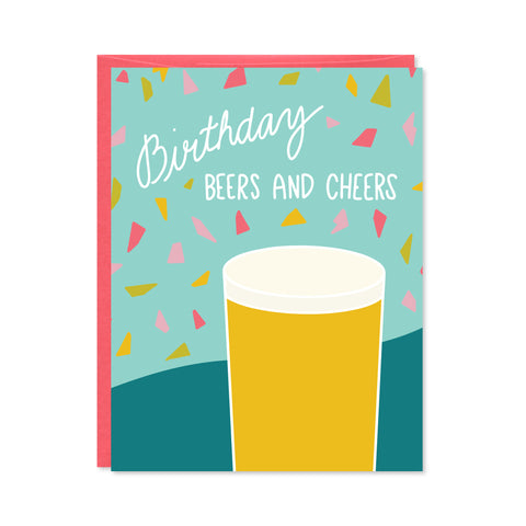 Beers and Cheers Card
