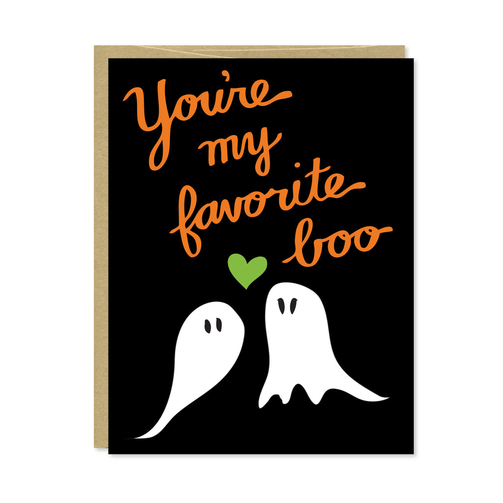 Favorite Boo Card