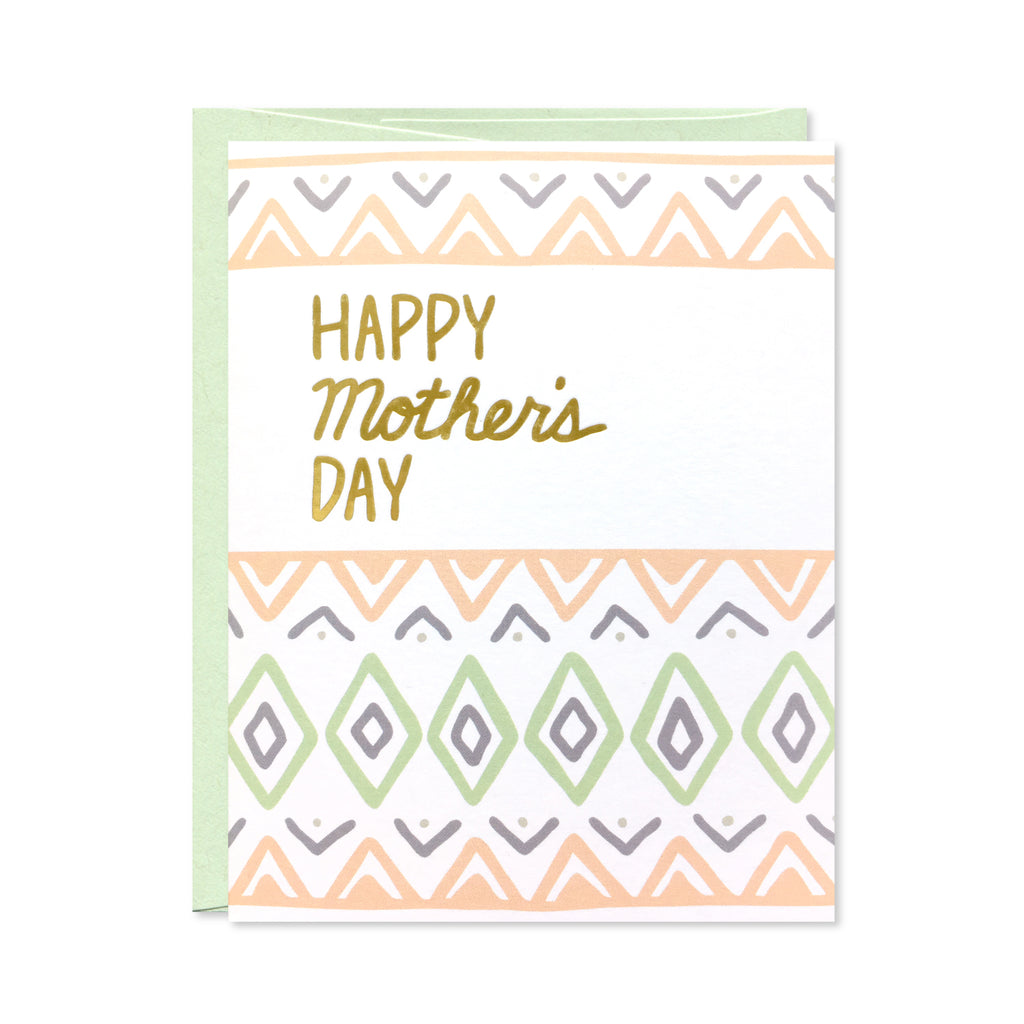 Gold Foil Mother's Day Card