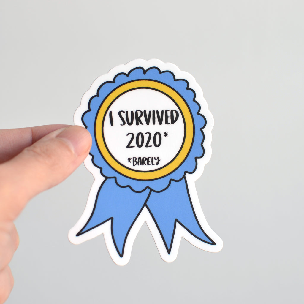 I Survived 2020 Sticker