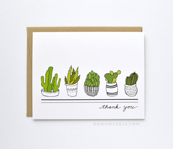 Succulent Thank You Boxed Set